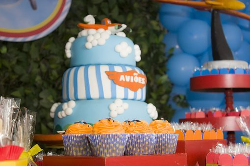 Children's Party, Birthday Child, Parties, Cake, Candy