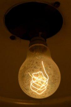 Light Bulb, Edison, Lamp, Nostalgia, Disappearing