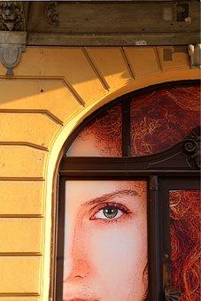 Window, Arch, Model, Billboard, Facade, Face
