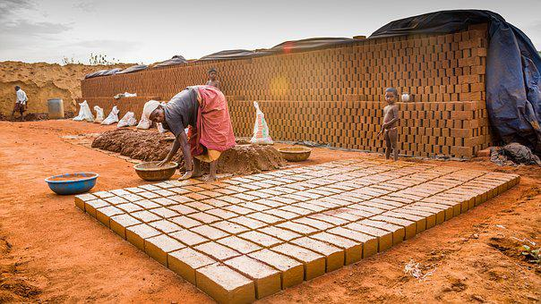 Hiring, Sengal, Bricks, Salem, Tamilnadu, India, Labour
