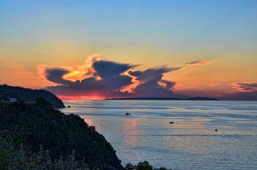 Turkey, Trilye, Summer, Landscape, Solar, Marine