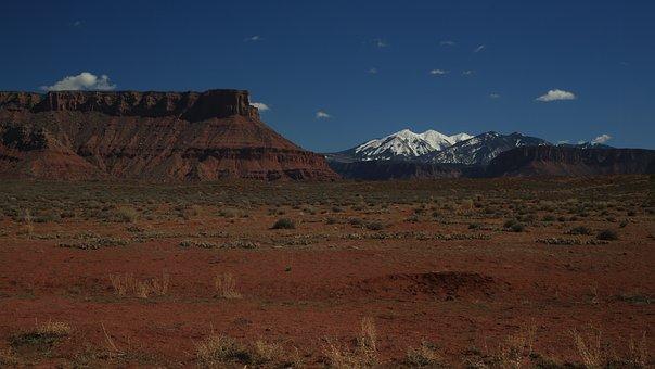 Landscape, Mountains, New Mexico