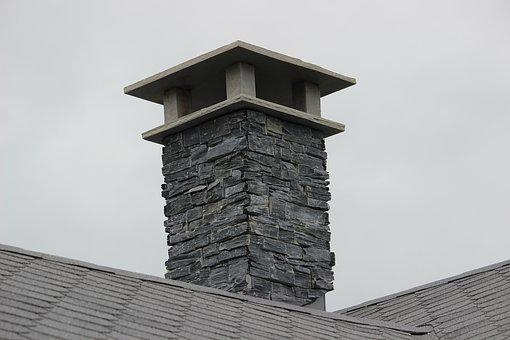Chimney, Stone, The Roof Of The