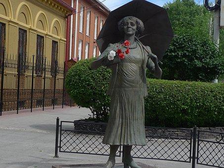 Taganrog, Ranevskaya, Theatre, Monument, History