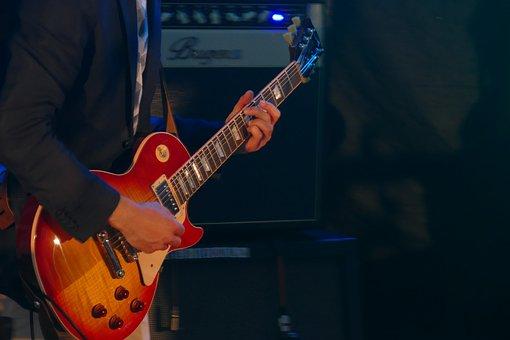 Guitar, Bakery, Electric Guitar, Music, Amp, Amplifier