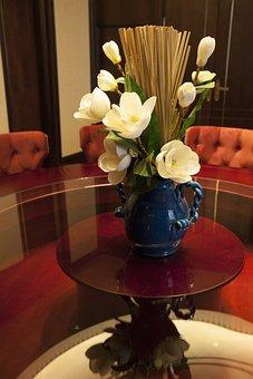Table Flowers, Art, Elegant