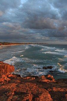 Beach, Surf, Fingal, Ocean, Sea, Water, Outdoor, Wave