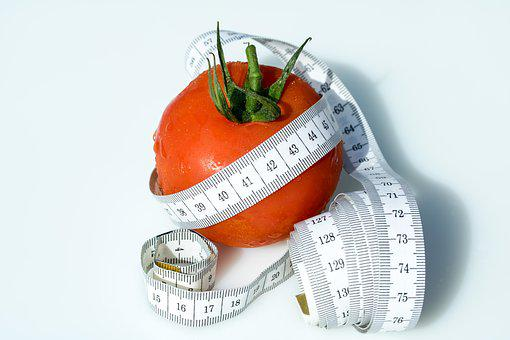 Tape Measure, Tomato, Wrapped Up, Coiled Tape Measure