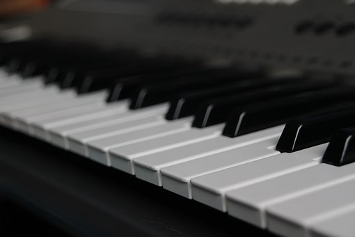 Piano, Key, Road, Distance, Music