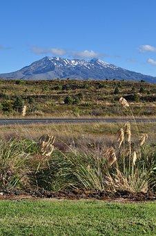 Mountain, New Zealand, New, Zealand, Nature, Landscape