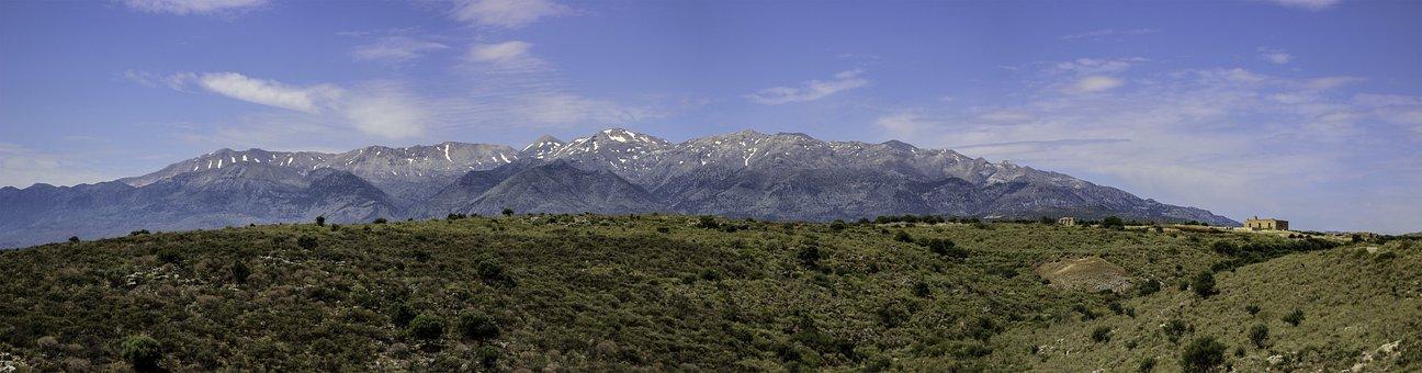 Lefka Ori, Mountains, Greece, White Mountains
