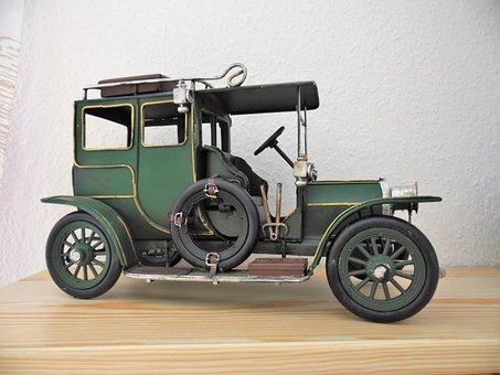 Oldtimer, Vehicle, Nostalgia, Classic, Toys, Old Car