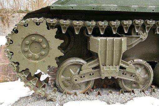 Panzer, Tank Vehicle, Tracked Vehicle, Tank Tracks, War