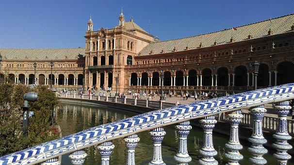 Plaza, Seville, Palace