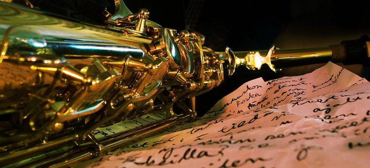 Saxofony, Music, Notes
