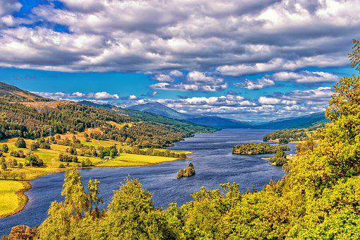 Scotland, Landscape, Highlands And Islands, Clouds