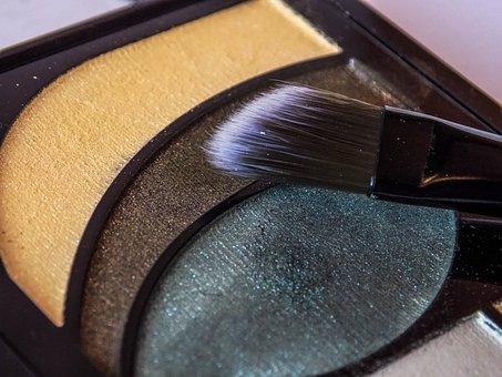 Brush, Makeup, Shadows