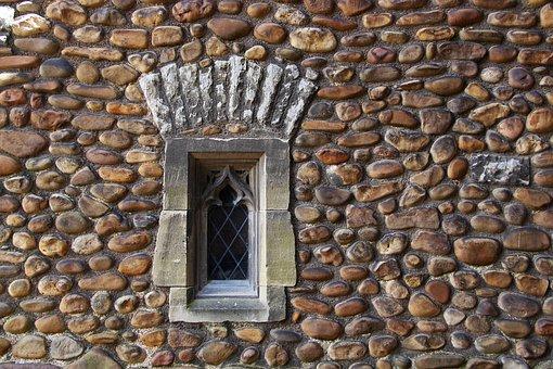 Pebble Wall, Wall, Rock, Texture, Surface, Stone