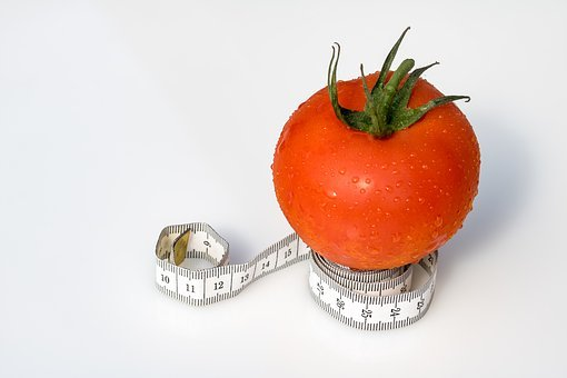 Tape Measure, Tomato, Coiled Tape Measure
