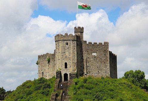 Castle, Hilltop, Architecture, Old, Building, Landmark