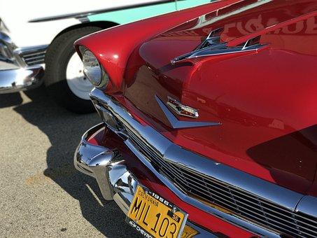 Car Show, Old Timers, Automobile, Vintage, Antique