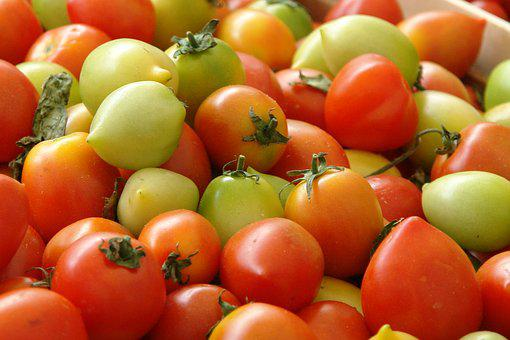 Tomatoes, Vegetable, Food, Garden, Delicious, Market