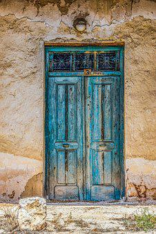 Door, Old, Aged, Weathered, Rusty, Dirty, Decay