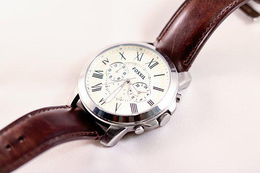 Fossil, Watch, Formal, Time, Classic