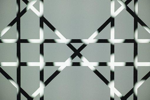 Pattern, Graphics, Figure, Line, Glass, Texture, Macro