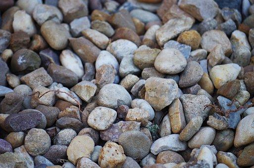 Stones, Rocks, Creek, Sand, Gravel, Walkway, Nature