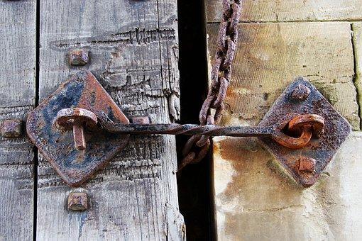 Latch, Catch, Lock, Door, Security, Metal, Close