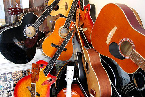 Guitars, Musical Instruments, Music, Instrument