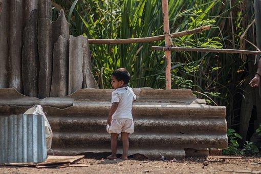 Kid, Slum, Poverty, Poor, Child, Homeless, Boy, Dirty