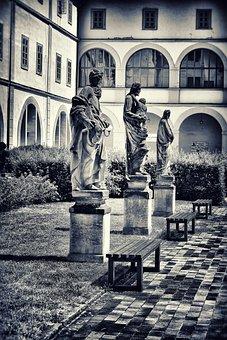 Statuary, Castle, Monument, Castle Garden, Culture, Art