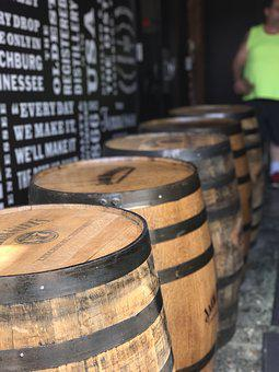 Jack Daniels, Whiskey, Tennessee, Barrels, Liquor