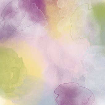 Watercolor, Watercolour, Paint, Abstract, Art, Pink