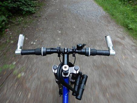 Bike, Handlebars, Landscape