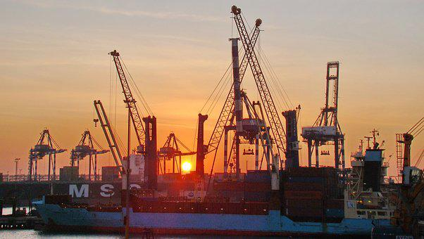 Ambarli Port, Turkey, Bosphorus, Strait, Port, Cranes