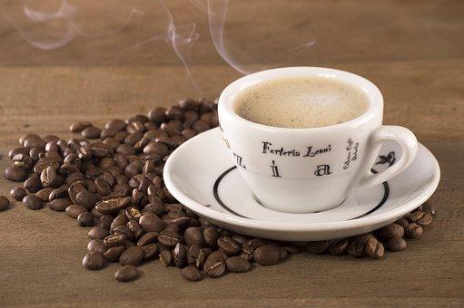Coffee, Coffee Beans, Grain, The Drink, Caffeine, Cafe