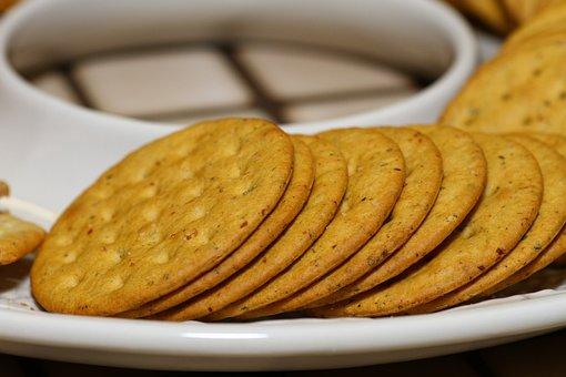 Crackers, Breakfast, Teatime, Snack, Food, Healthy