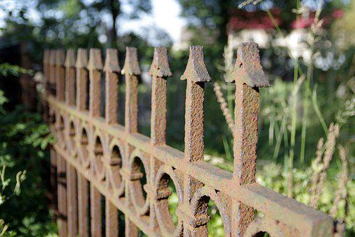 Fencing, Accessory, The Fence, Dashing, Old, Rusty