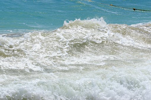 The Black Sea, The Waves, Sea Foam, Water, Nature