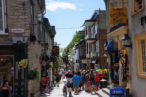 Summer, Quebec City, Canada, Market
