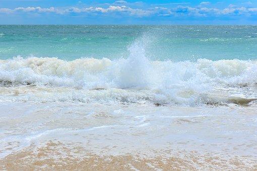 The Black Sea, The Waves, Sea Foam, Raging, Snowmen