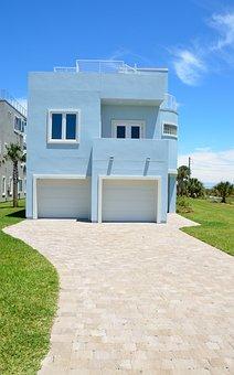 New, Florida Beach Home, House, Architecture, Beach