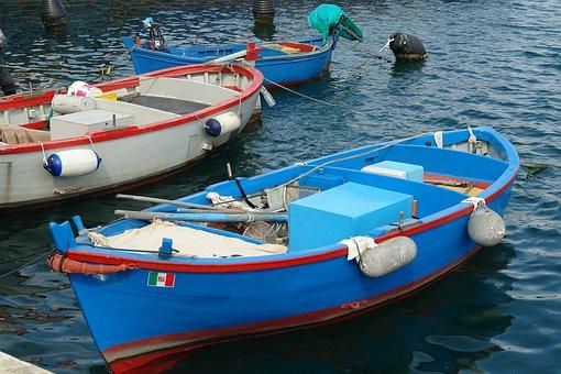 Old, Fishing, Boat, Fisherman, Shore, Fish, Traditional