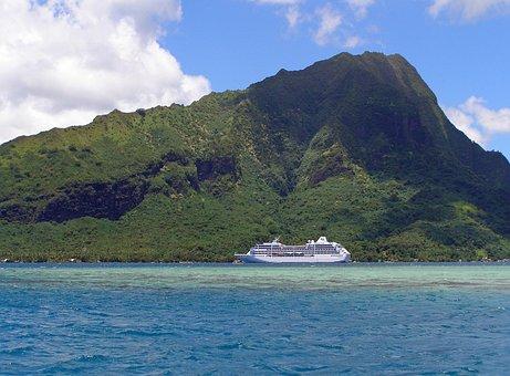 Moorea, French, Polynesia, Island, Tahitian Princess