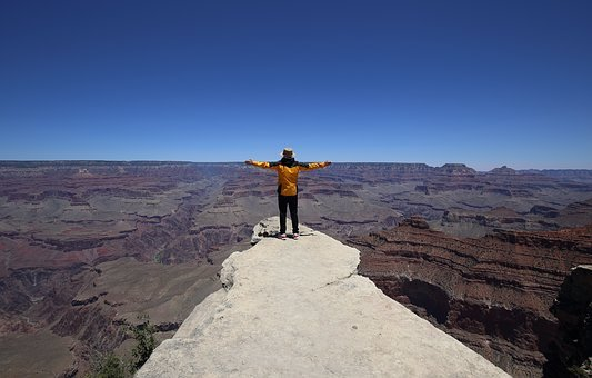 Grand Canyon, United States, Sky, Nature, National Park