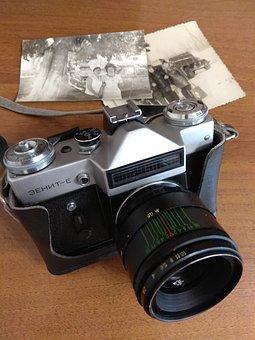 Zenith, Camera Zenit, Old, Camera, The Ussr, Retro