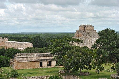 Chichen Itza, Monument, Ruin, Temple, Ancient, Aztec